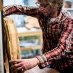 Photographie reportage entreprise Photographie d'artisan-Laurent-Legoff-Luthier